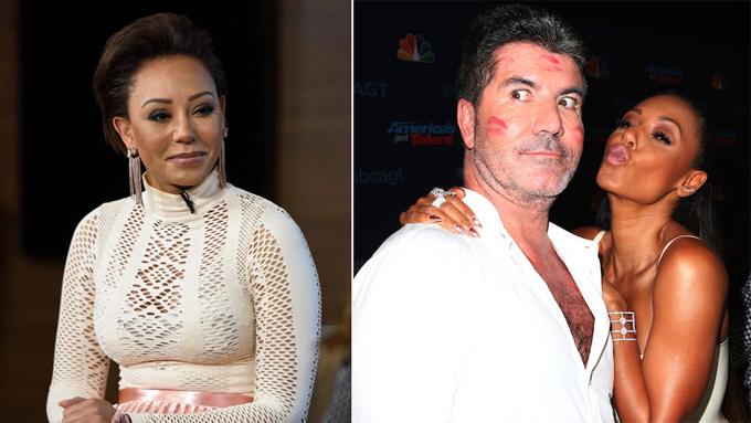 Mel B bị nghi ngờ có mối quan hệ tình cảm bí mật với đồng nghiệp Got Talent Simon Cowell.
