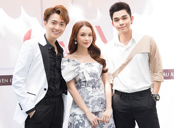 Sam và Jun Phạm tới chung vui với bạn thân Ngô Kiến Huy.