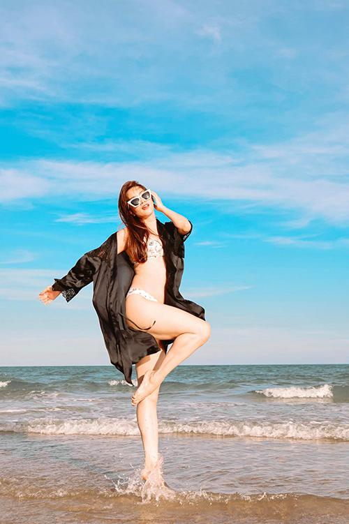 Khánh Thi mong muốn giảm thêm 1,9 kg nữa. Trong năm 2020, cô có kế hoạch trở lại với vai trò giám khảo trên truyền hình.