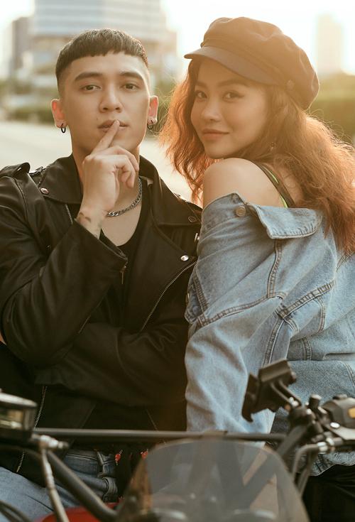 Kiều Ngân và Tronie là một cặp đôi đẹp của showbiz Việt.