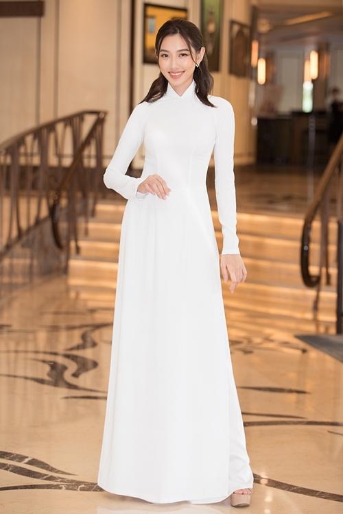 Thùy Tiên - Top 5 Hoa hậu Việt Nam 2018.