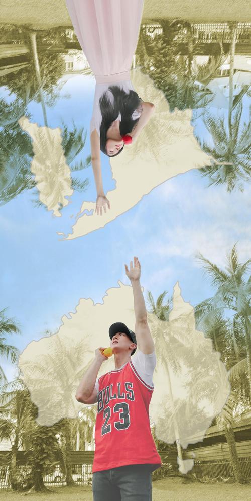 Ngô Tôn sinh ngày 10/10/1979 tại Brunei. Năm 16 tuổi, anh được bạn giới thiệu sang Đài Loan làm           người mẫu. Anh chính thức bước chân vào làng giải trí xứ Đài với phim truyền hình Juliet phương Đông. Sau đó,           anh gia nhập nhóm nhạc thần tượng Phi Luân Hải nổi tiếng của Đài Loan. Sau khi tách nhóm ra diễn solo đầu năm           2011, Ngô Tôn lấn mạnh sang lĩnh vực diễn xuất. Anh từng tham gia các phim Kiếm điệp, Cẩm Y Vệ, Đại võ sinh,           Dương gia tướng trung liệt... Trong khi Ngô Tôn làm việc trong làng giải trí và có lượng fan hùng hậu, Lệ Oánh           chỉ là một cô gái bình thường. Tuy nhiên suốt nhiều năm, hai người vẫn gắn bó, yêu thương nhau trọn vẹn. Cặp           sao đăng ký kết hôn vào 2009 và giữ bí mật hôn sự. Tháng 10/2013, Ngô Tôn mới công khai việc đã có con.
