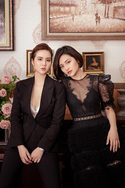Trong phim này, Thuỳ Anh tiếp tục nhận một vai phản diện, là em cùng cha khác mẹ với Phan Linh do Diễm My 9X đóng.