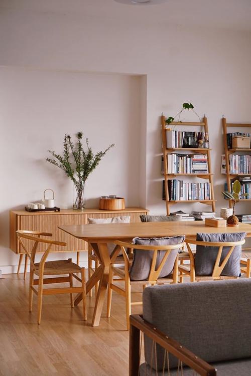 Chị chỉ cần mua bổ sung nội thất và cây cảnh, ngoài ra không thực hiện thêm cải tạo lớn nào trong nhà.