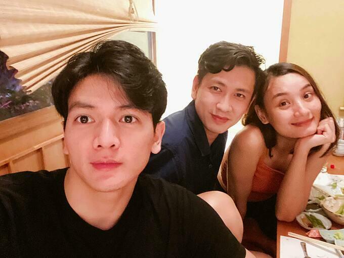 Xuân Tiền tụ tập ăn uống cùng vợ chồng Lê Thúy - Đỗ An.