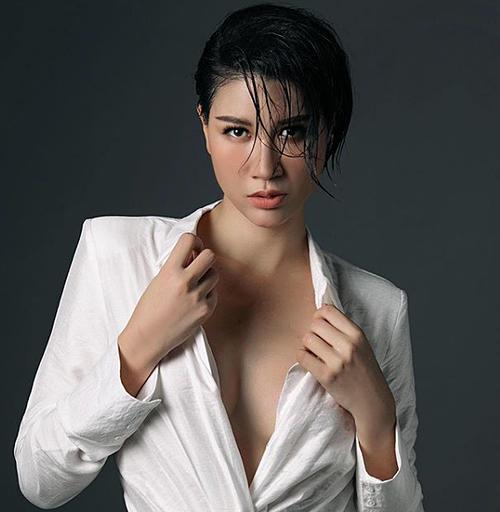 Cựu người mẫu Trang Trần.
