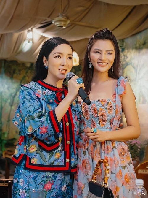 Giáng My chúc nhà hàng của Vũ Thu Phương tiếp tục kinh doanh phát đạt. Cô cũng ngưỡng mộ đàn em gặt hái nhiều thành công trong các lĩnh vực: thời trang, nhà hàng, giám khảo Hoa hậu Hoàn vũ Việt Nam 2019.
