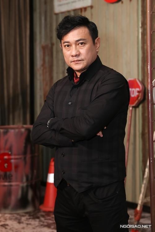 Hoàng Phúc là nam diễn viên gạo cội nhất trong đoàn phim.