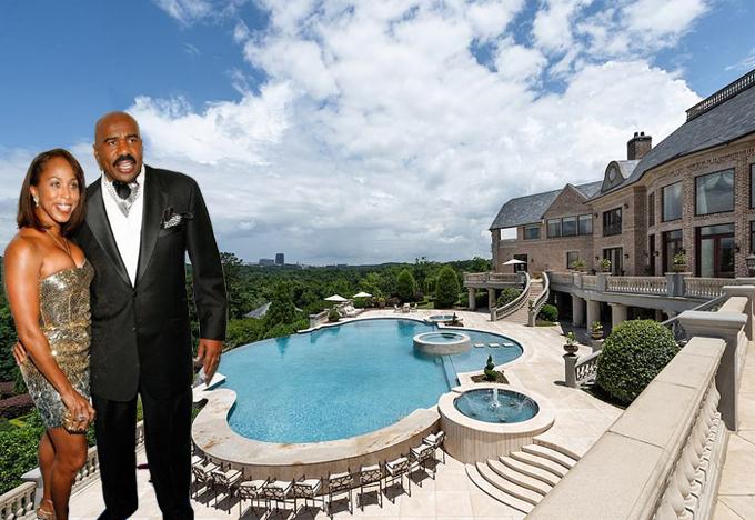 Danh hài Steve Harvey - MC cuộc thi Miss Universe - vừa mua lại biệt thự 15 triệu USD của tài tử Tyler Perry, rộng 7 ha. Tyler từng rao bán nhà với giá 25 triệu USD vào năm 2018 nhưng hiện anh chỉ lấy của Steve Harvey 15 triệu USD.