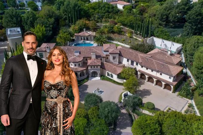 Nữ hoàng phim truyền hình Mỹ Sofia Vergara và chồng - tài tử Joe Manganiello - tậu biệt thự rộng hai mẫu ở khu phố giàu có Beverly Park, Los Angeles vào tháng 5. Ngôi nhà này từng được rao bán năm ngoái với giá 30 triệu USD nhưng vợ chồng Sofia được giảm còn 26 triệu USD (605 tỷ đồng).