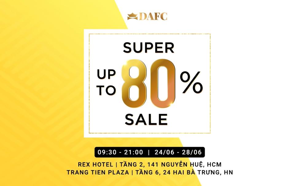 DAFC giảm giá hàng hiệu đến 80% tại Private Sale - 6
