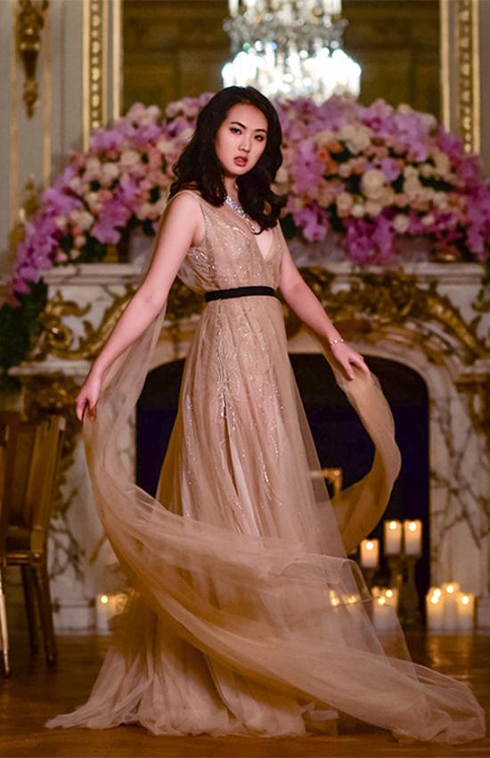 Annabel Yao, con gái nhà sáng lập Huawei Ren Zhengfei có thời gian dài học tại Mỹ. Ảnh: News.