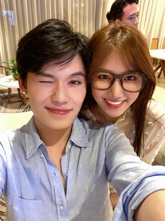 Quang Trung chúc đàn chị luôn xinh đẹp, nhiều sức khoẻ và hạnh phúc khi bước sang tuổi mới.