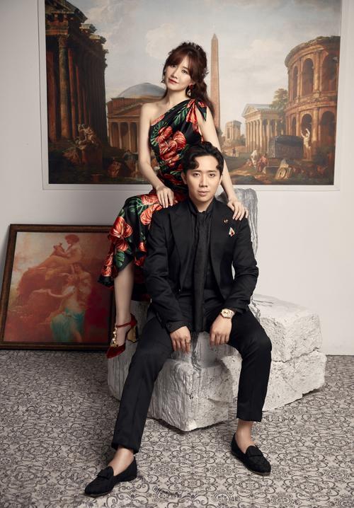 Sắp tới vợ chồng Trấn Thành dự định làm một talkshow về đề tài hôn nhân, gia đình.