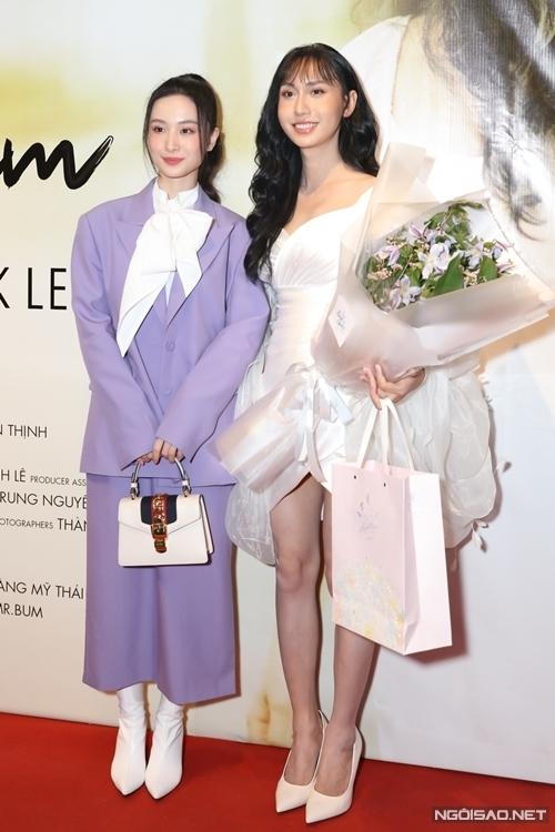 Diễn viên Jun Vũ đến chúc mừng sản phẩm mới của Lynk Lee.