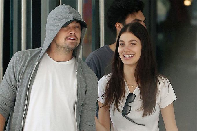 Leonardo DiCaprio và Camila Morrone.