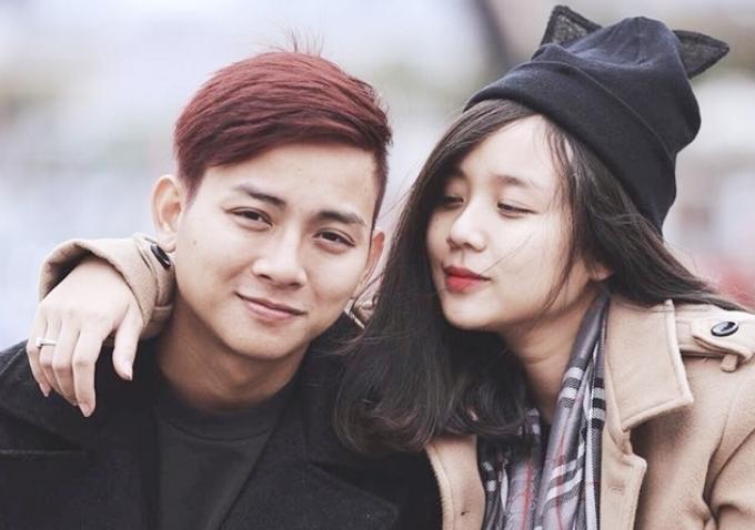 Vợ chồng Hoài Lâm - Bảo Ngọc lúc bên nhau.