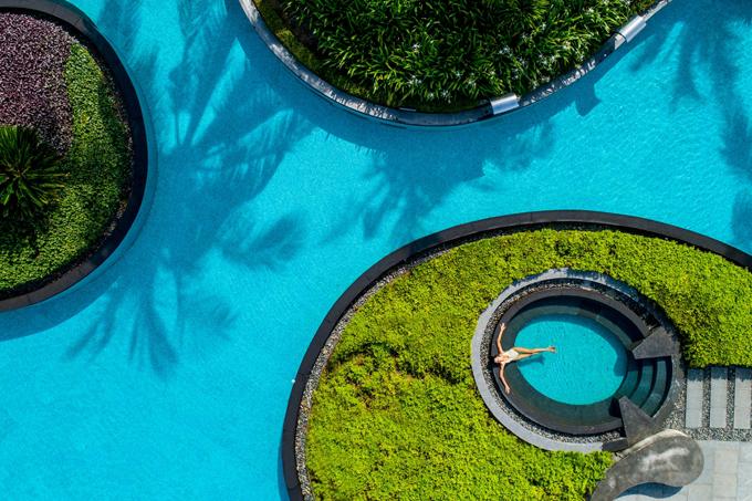 3 khu nghỉ có bể bơihình dáng độc đáo ở Việt Nam - 4