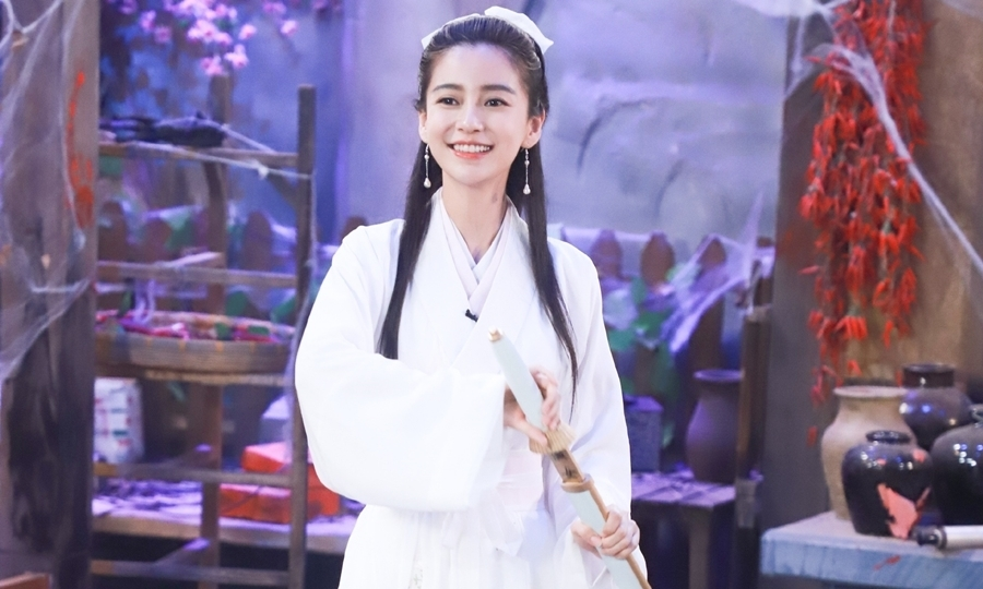 Angelababy đóng Tiểu Long Nữ