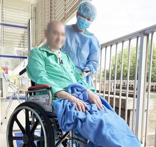 Phi công người Anh - bệnh nhân 91 của Covid-19 tại Việt Nam.