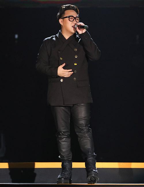 Hoàng tử mưa Trung Quân Idol hát Cảm ơn mẹ.