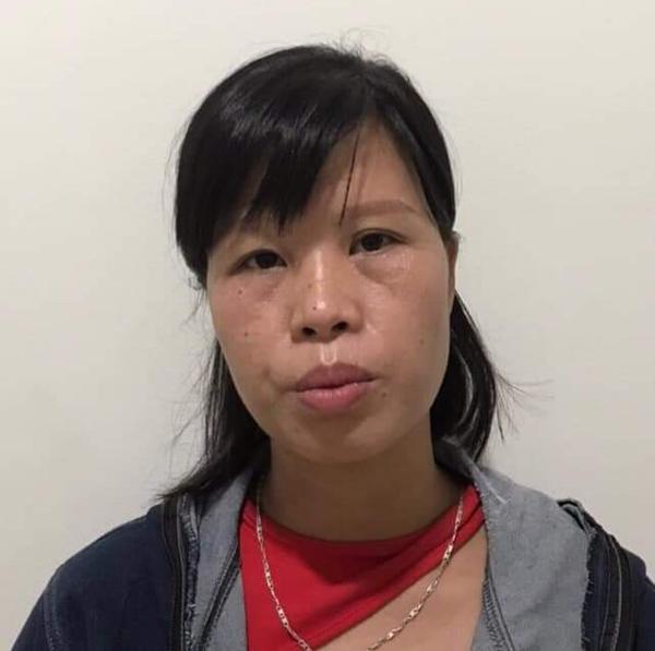 Phạm Thị Thành tại cơ quan điều tra. Ảnh: Công an Hà Nội.