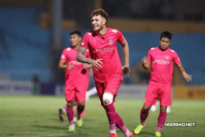 Bàn thắng duy nhất của trận đấu được ghi do công của tiền đạo Geovane ở phút 48.