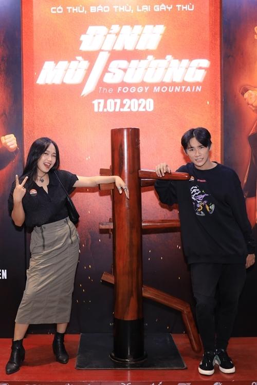 Hai diễn viên trẻ Huỳnh Tuyết Anh và Anh Tú Wilson.