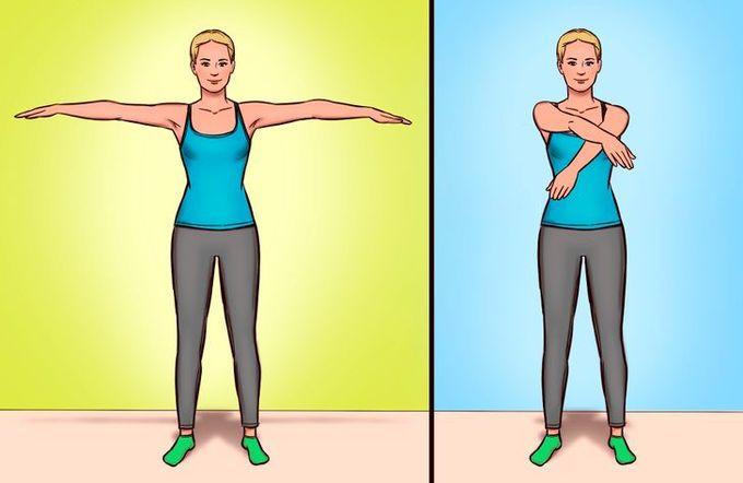 8 động tác chỉnh sửa tư thế, giảm đau lưng