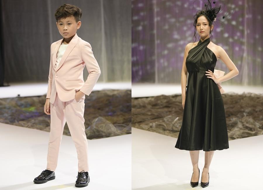 Con gái Xuân Lan, con trai Đỗ Mạnh Cường tỏa sáng trên sàn diễn - 18