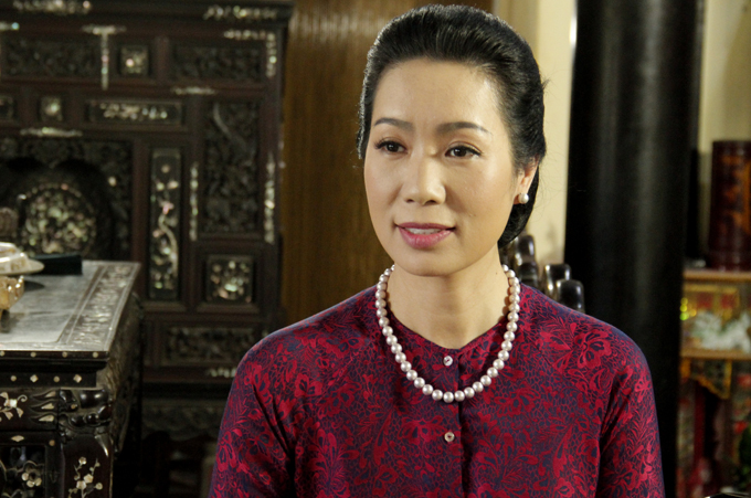 Diễn viên Trịnh Kim Chi cũng góp mặt với nhân vật người mẹ hiền lành, thương con trong phim này.