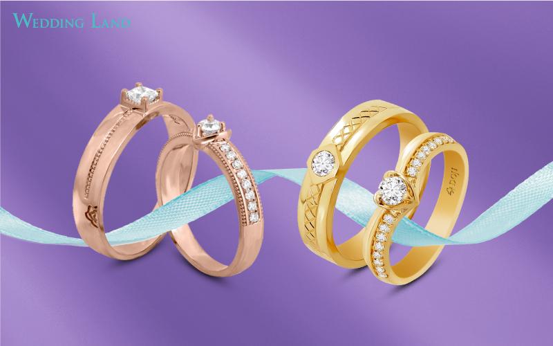 Dịp này, DOJI và Thế Giới Kim Cương cũng mang đến những thiết kế nhẫn đính hôn và nhẫn cưới tinh xảo. Đây là món quà đặc biệt gửi gắm lời tri ân và chúc phúc tới các cặp đôi của hai thương hiệu. Ngoài ưu đãi 15%, khách hàng mua nhẫn cưới và nhẫn cầu hôn có cơ hội cào trúng thưởng 2 kỳ nghỉ trăng mật 5 sao đẳng cấp. (bỏ phần chân ảnh Wedding Land...)