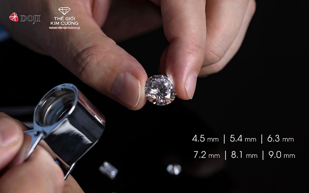 Nhân dịp sinh nhật 26 năm, DOJI ra mắt bộ sưu tập kim cương viên Bách lộc Trường cửu với những viên kim cương tổng 9 nút (4.5 mm, 5.4 mm, 6.3 mm, 7.2 mm, 8.1 mm và 9.0 mm). Trong quan niệm của Á Đông, con số 9 thể hiện cho sự cao quý và viên mãn trong phong thủy. Vì thế, DOJI gửi tới khách hàng kim cương viên tổng 9 nút với mong muốn mang lại may mắn, phú quý và thành công trường cửu.