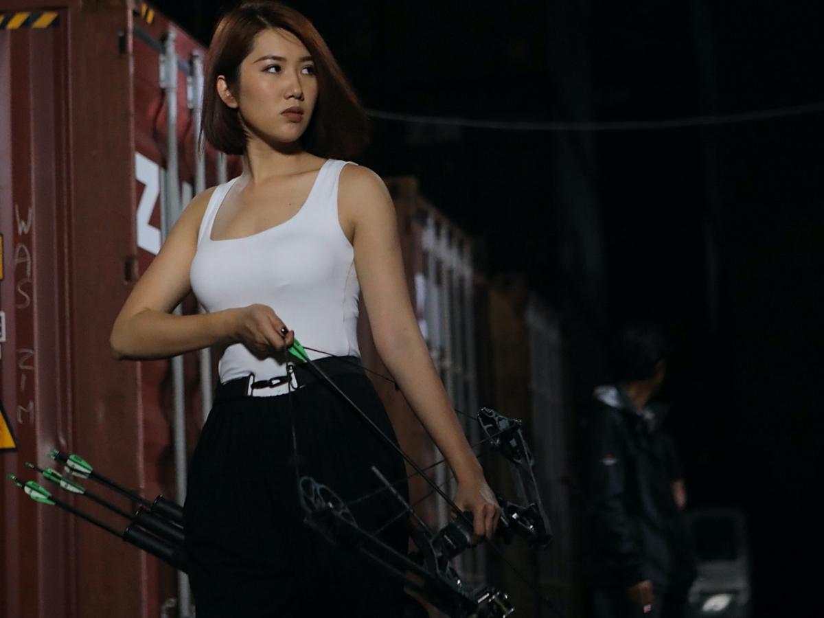 Cô không giấu tham vọng trở thành đả nữ mới của màn ảnh Việt, nhưng nữ diễn viên xác định không vội vàng mà muốn chứng minh thực lực qua từng vai diễn.