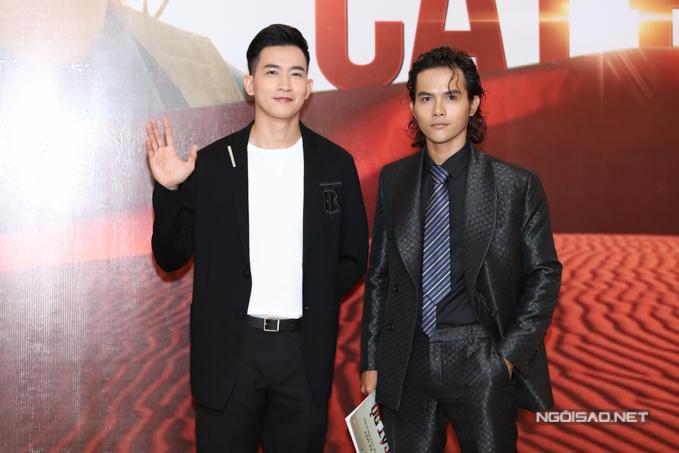 Diễn viên Hữu Thanh Tùng (phải) đóng vai chàng chăn cừu - tình địch của Võ Cảnh trên màn ảnh nhỏ.