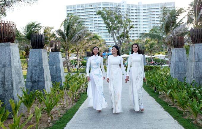 Đào Thị Hà, Kim Nguyên và Lê Hoàng Phương hiện hoạt động trong làng giải trí với vai trò người mẫu.