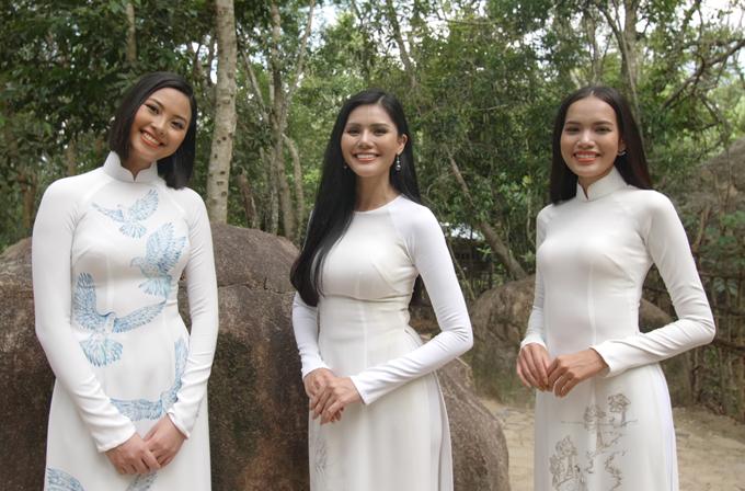 Ba cô gái cùng nhau khám phá vẻ đẹp thiên nhiên mộc mạc, hoang sơ và nhịp sống chậm rãi, bình yên ở Khánh Hòa.