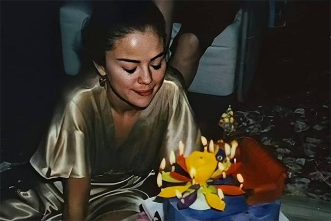 Không gian sinh nhật lãng mạn của Selena Gomez - 2