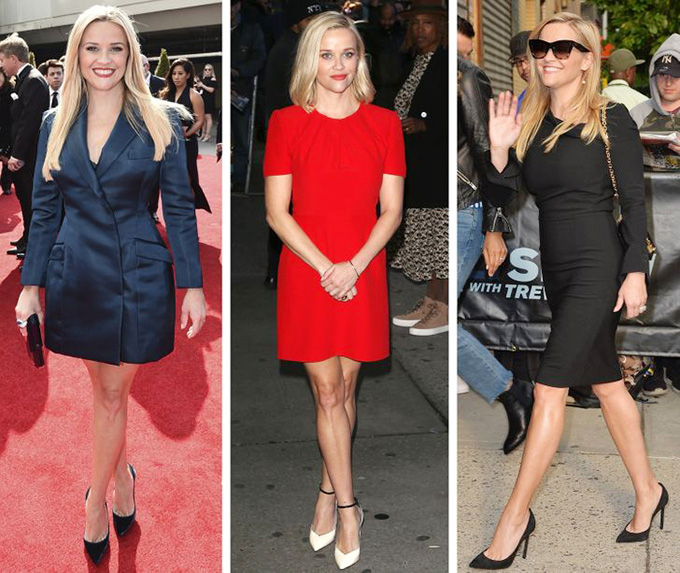 Reese Witherspoon - Hạn chế chiều caoChỉ cao