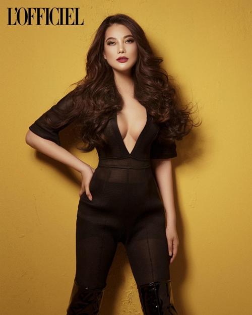 Trên website chính thức, LOfficiel Nga giới thiệu Trương Ngọc Ánh là nhà sản xuất phim - diễn viên tài năng của điện ảnh Việt.