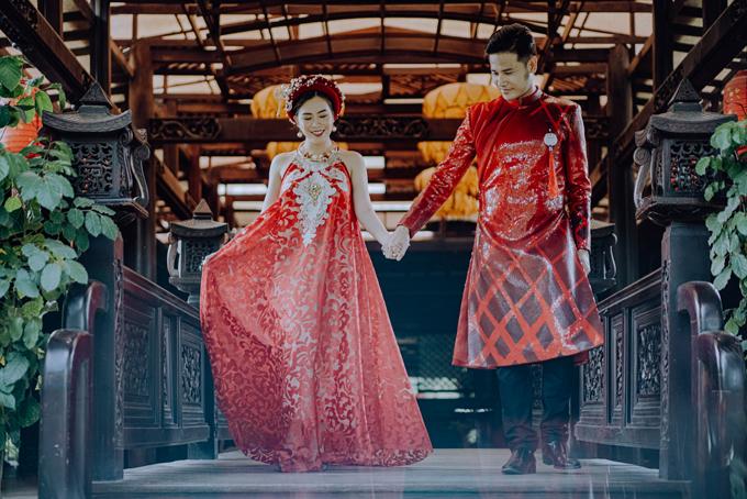 [Caption]ecor & concept: Moon weddings & eventstrang phục: nhà thiết kế Lâm Lâm  concept: The Harmony hình ảnh: Moon