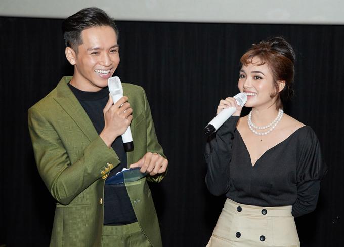 Ca sĩ Bạch Công Khanh làm MC trong buổi họp báo công bố phim. Ngoài ca hát và làm MC, . quán quân Gương mặt thân quen 2016 thỉnh thoảng tham gia đóng phim.