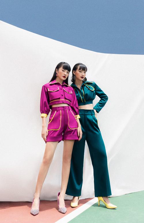 Bộ ảnh được thực hiện với sự hỗ trợ của art direcror Hà Kino, nhiếp ảnh Hoài Nam, trang điểm Mykool Lê, stylist Phi Đào.