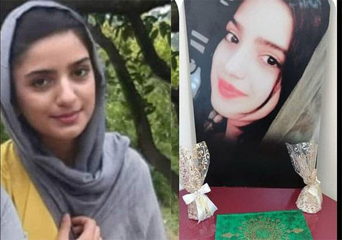 Fhreh Ghozat, thiếu nữ 16 tuổi trước khi bị ném chết ở Tehran, Iran. Ảnh: FB.