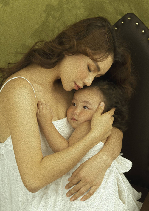 Bé Sophia sắp tròn 2 tuổi. Nhóc tỳ càng lớn càng xinh xắn, khiến mẹ tự hào.