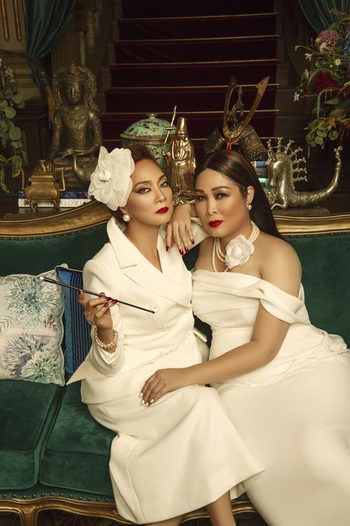 Ở phần trước, nghệ sĩ Hồng Vân đóng vai mẹ chồng của nghệ sĩ Lê Khanh. Sang phần mới này, họ vào vai hai chị em sắc sảo và quyền lực.