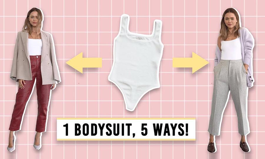 5 set đồ từ một mẫu bodysuit