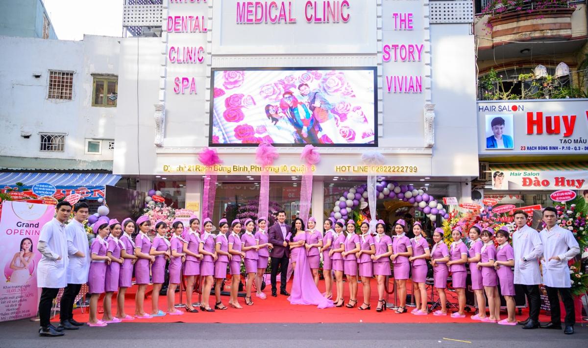 The Story Vivian khai trương cuối tháng 5 tại số 21 Rạch Bùng Binh, phường 10, quận 3, TP HCM.