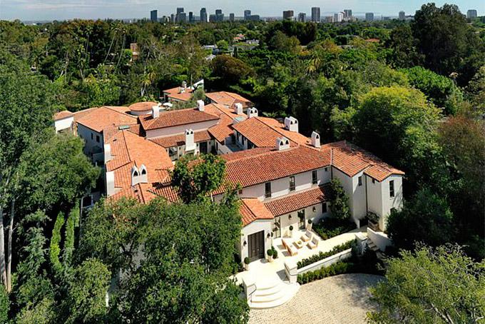 Biệt thự rộng lớn của tỷ phú Travis Kalanick tại Los Angeles. Ảnh: Mail.