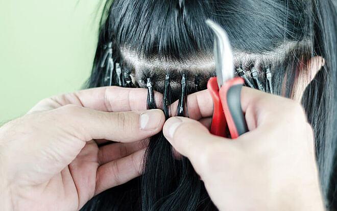 Nối tóc có thể gây ra những cơn đau đầu dai dẳng.
